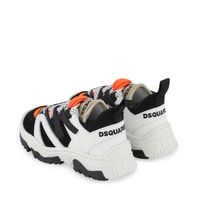Picture of Dsquared2 66996 kids sneakers sand