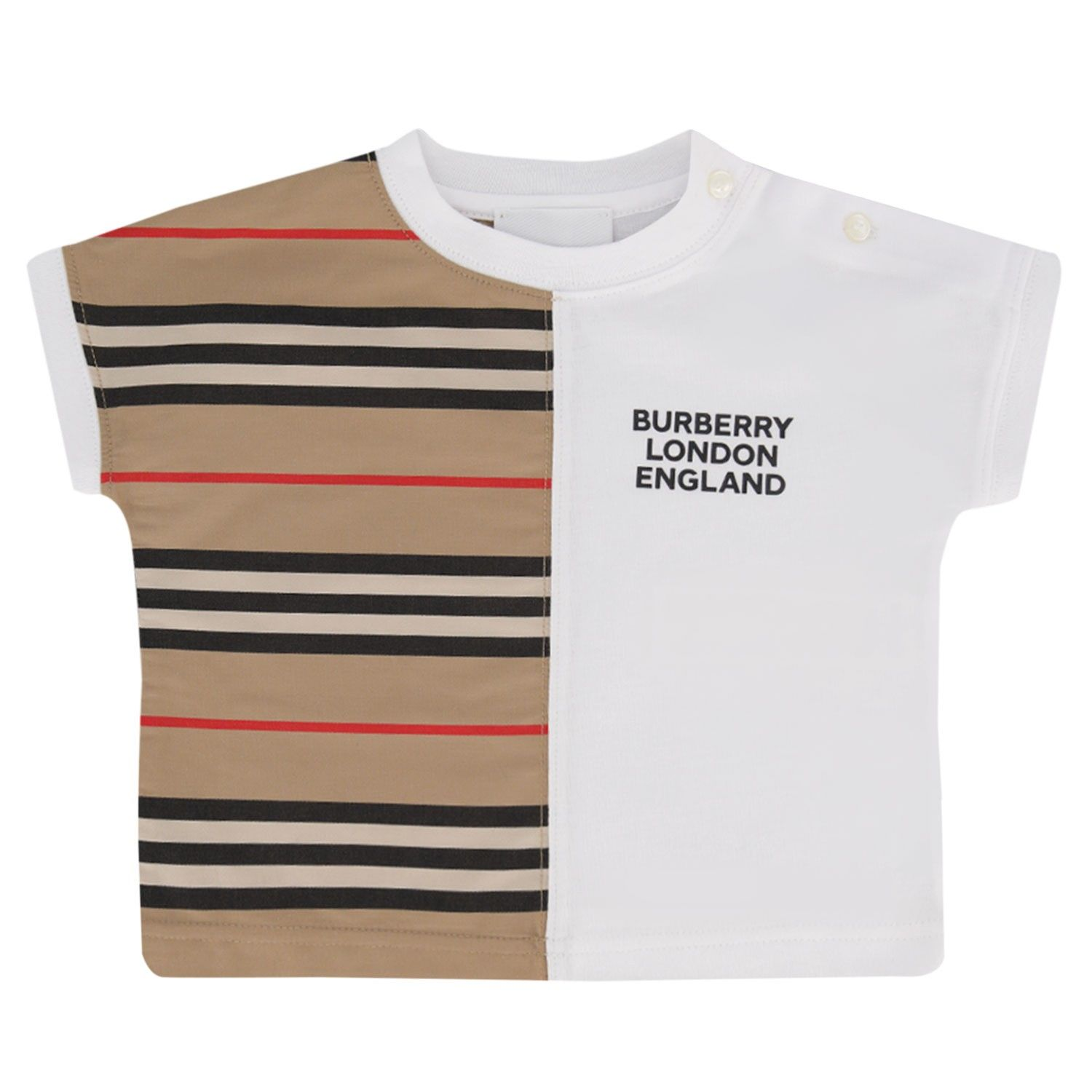 Picture of Burberry 8030390 baby shirt white