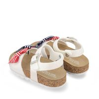 Picture of MonnaLisa 837022 kids sandals white