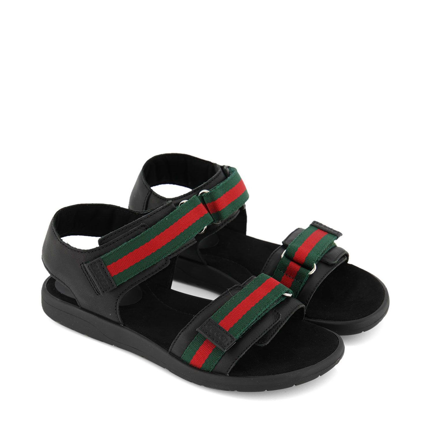 Picture of Gucci 257761 kids sandals black