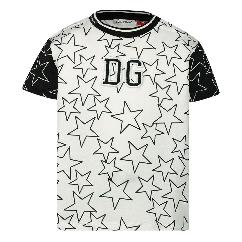 Bild von Dolce & Gabbana L1JT8E / G7VBX Baby-T-Shirt Weiß