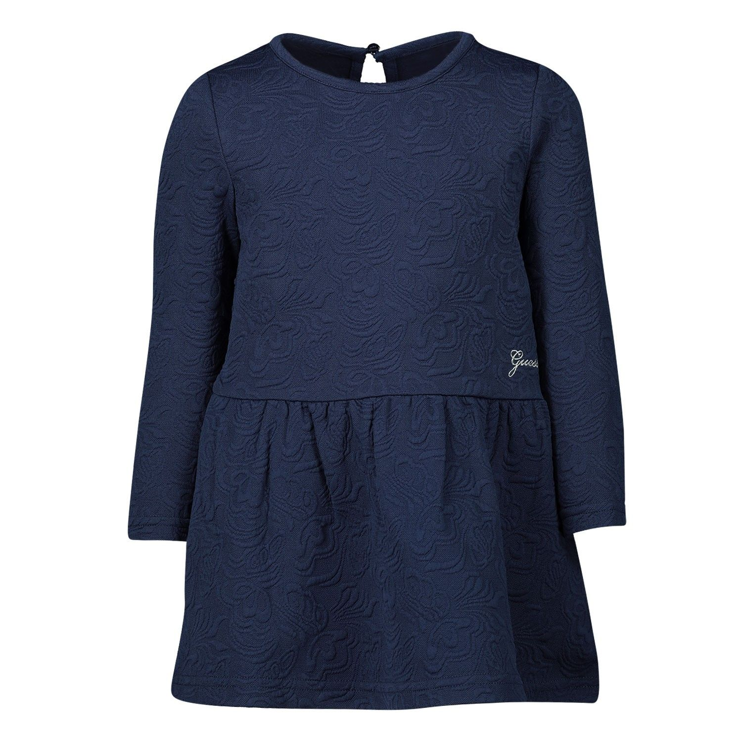 Picture of Guess A93K26 baby dress navy