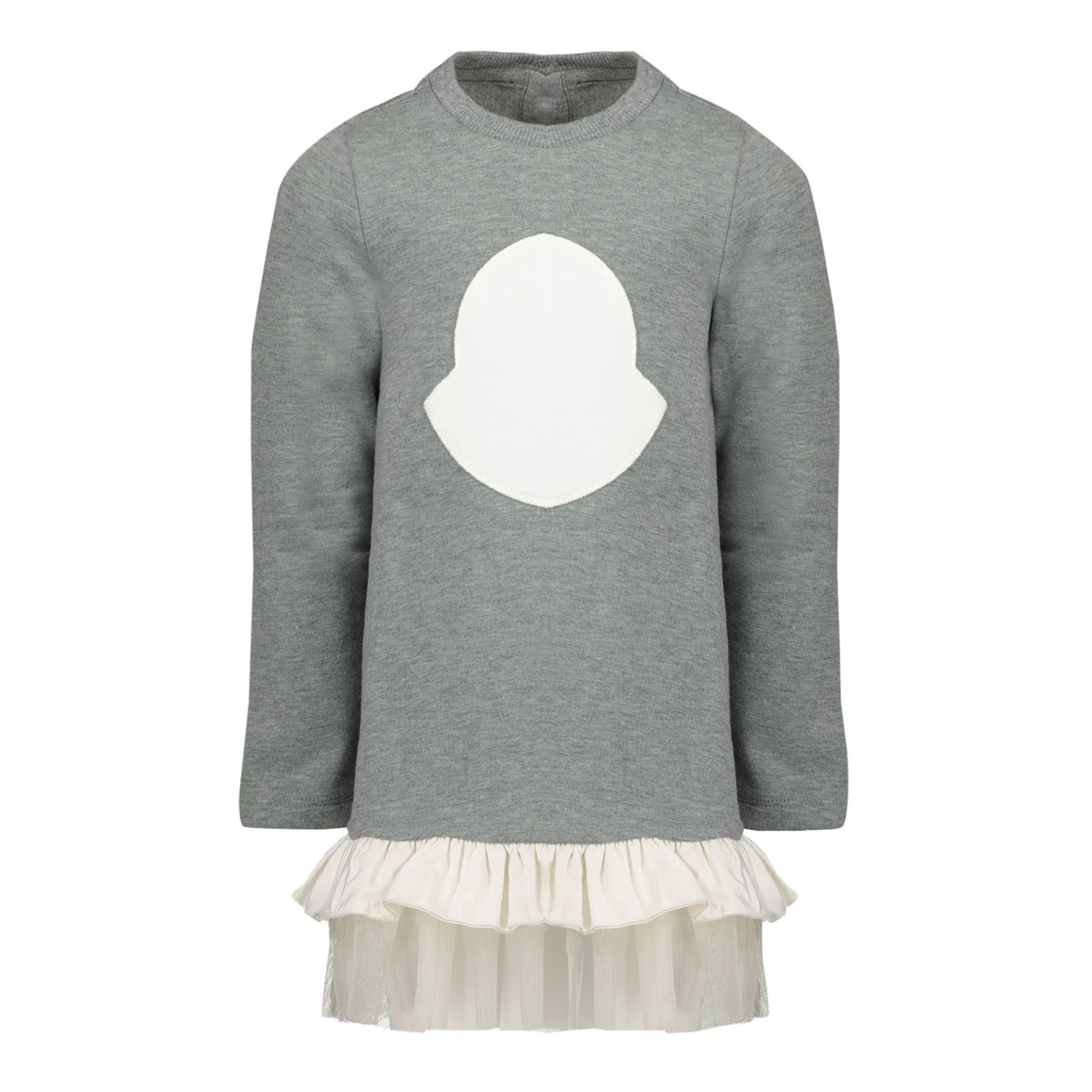 Picture of Moncler 8I71710 baby dress light gray