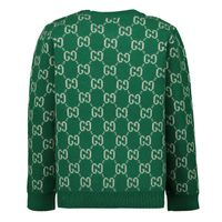 Picture of Gucci 615411 baby sweater green