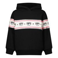 Picture of Chiara Ferragni 598607 kids sweater black