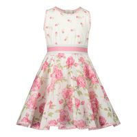 Picture of MonnaLisa 317916 baby dress off white