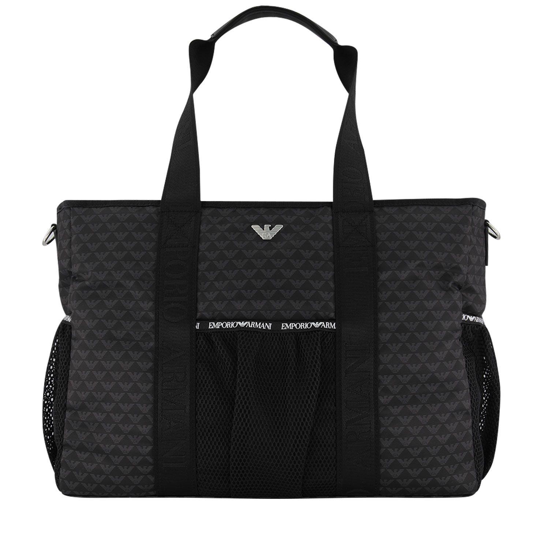 Picture of Armani 402146 diaper bags black
