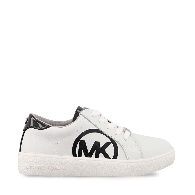 Picture of Michael Kors ZIAJEMCALLA kids sneakers white