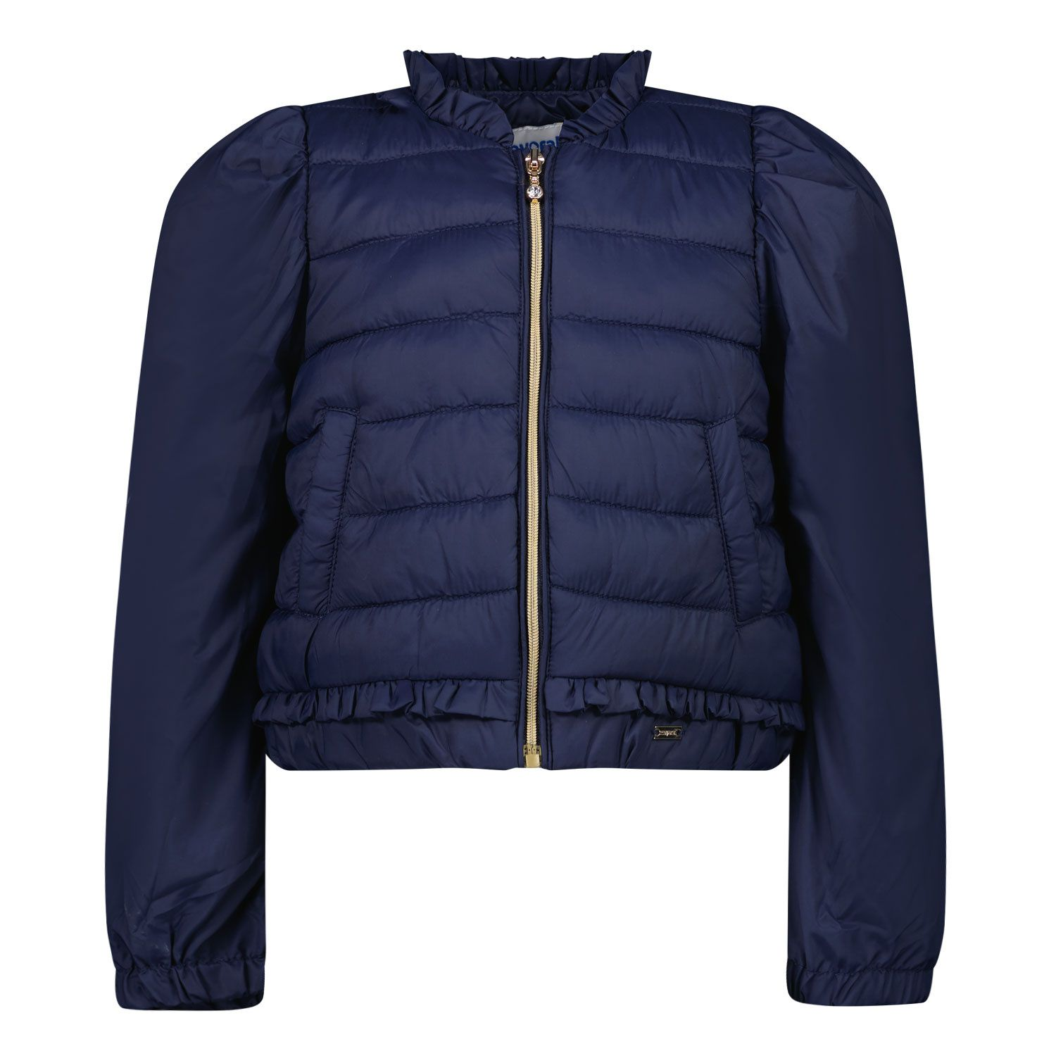 Picture of Mayoral 1486 baby coat navy