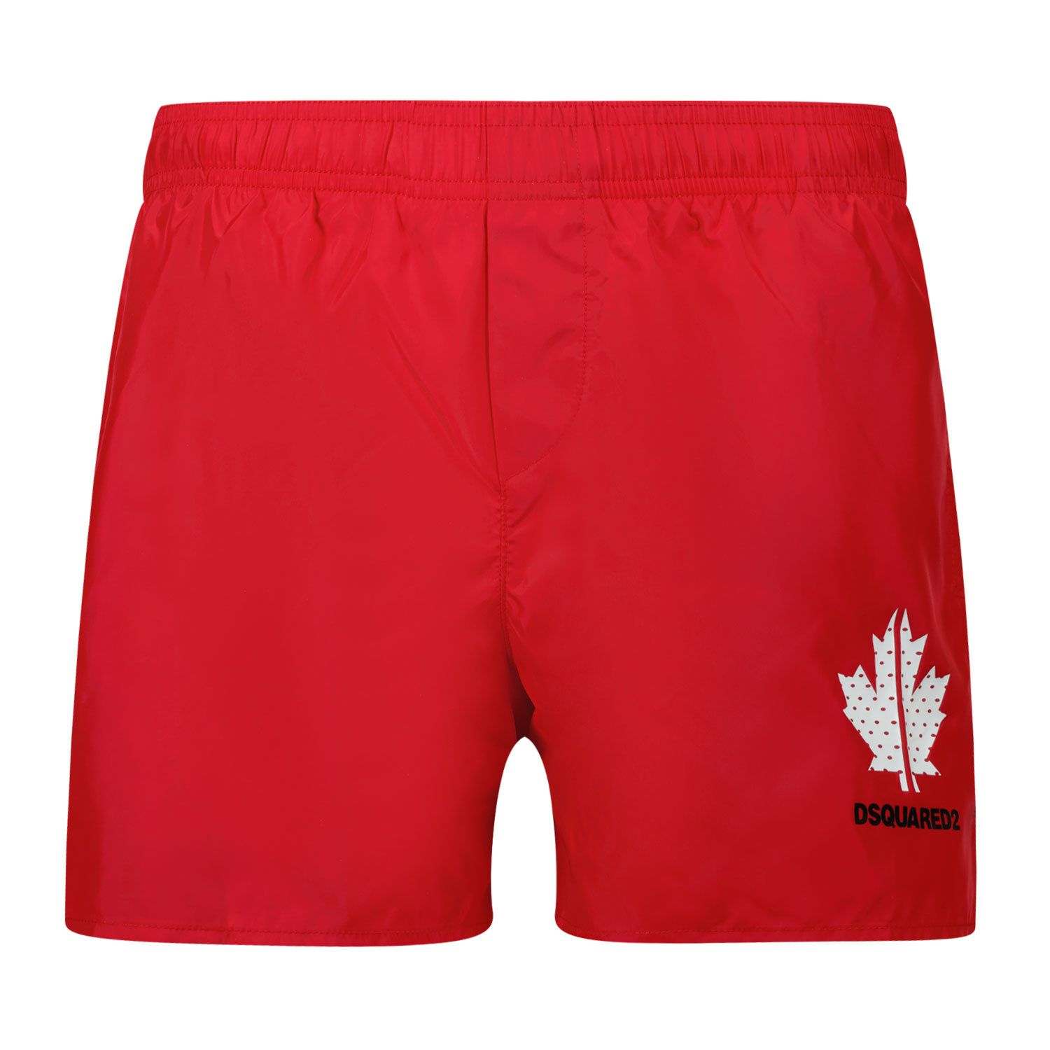Picture of Dsquared2 DQ0052 kids swimwear red