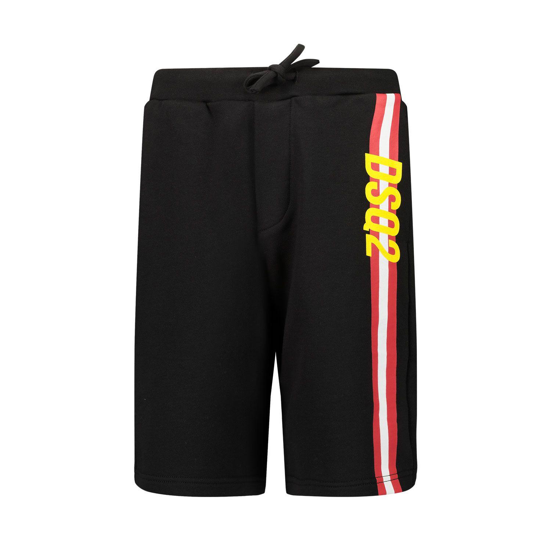 Afbeelding van Dsquared2 DQ0121 kinder shorts zwart