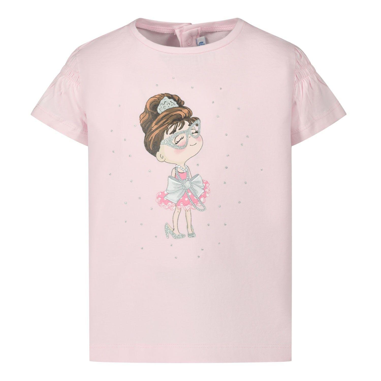 Afbeelding van Mayoral 1056 baby t-shirt licht roze