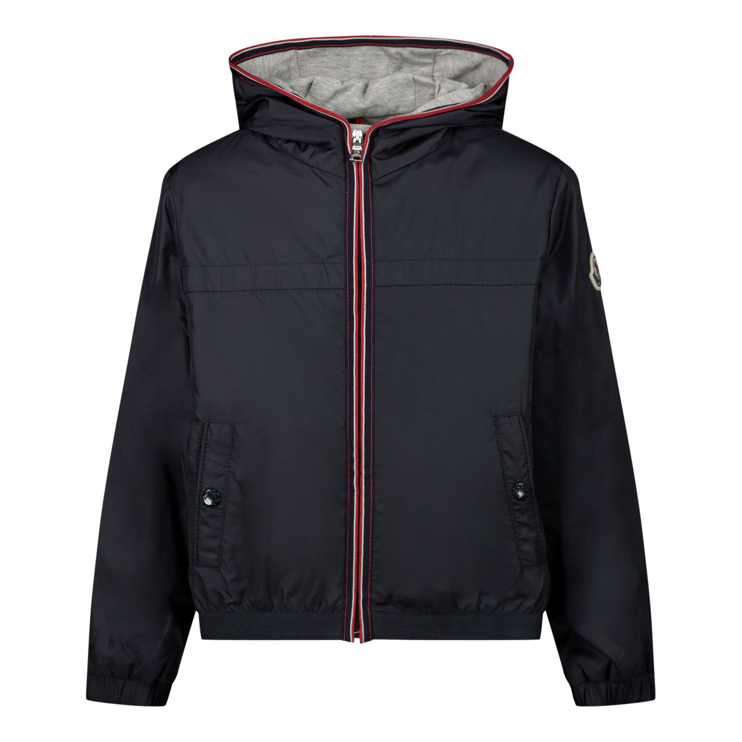 Picture of Moncler 1A70920 baby coat navy