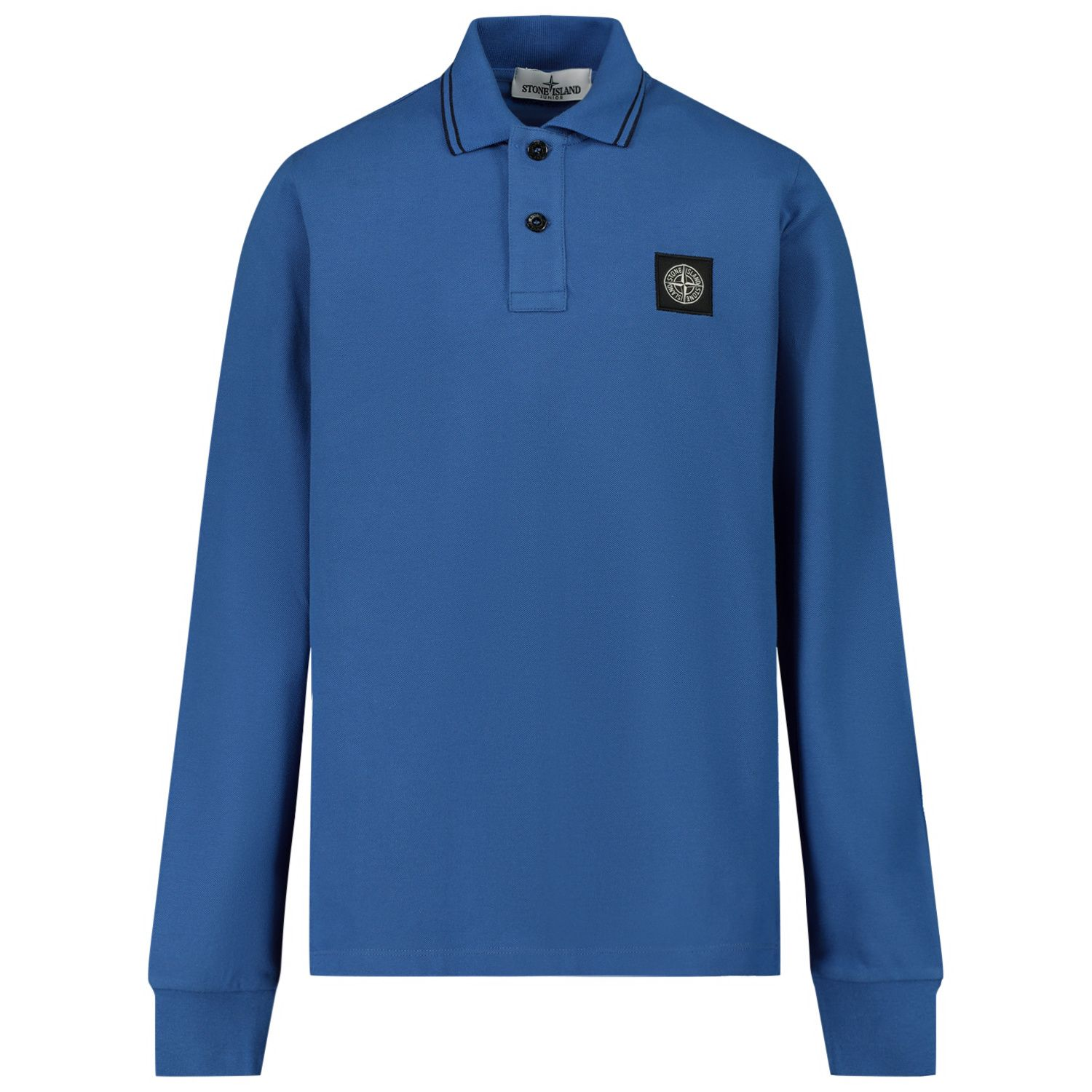 Picture of Stone Island MO731620748 kids polo shirt cobalt blue
