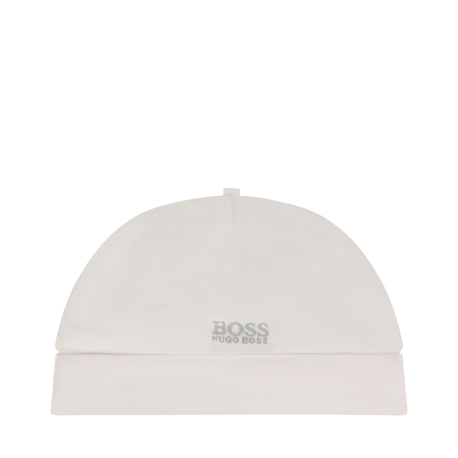 Picture of Boss J91119 baby hat white