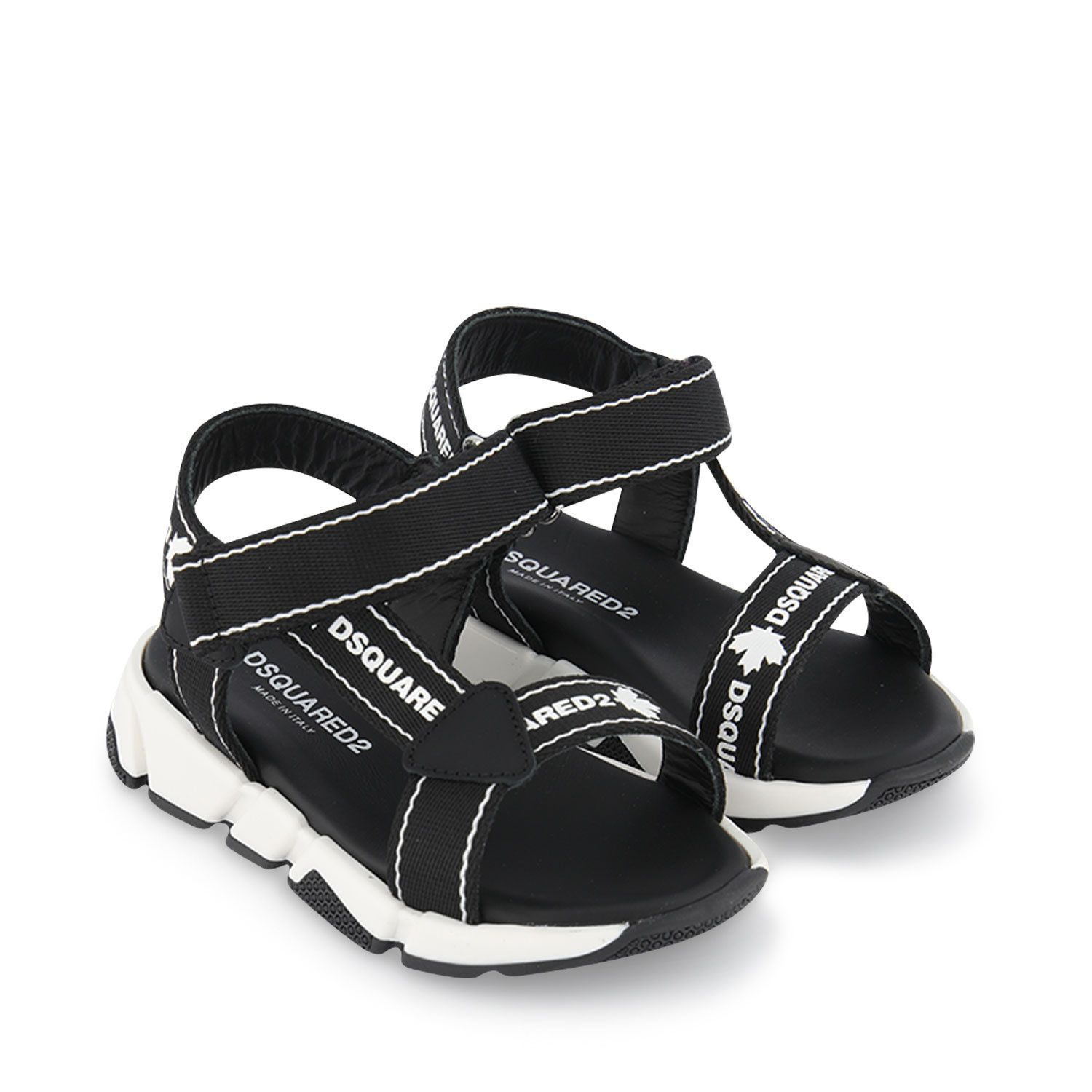 Picture of Dsquared2 66967 kids sandals black
