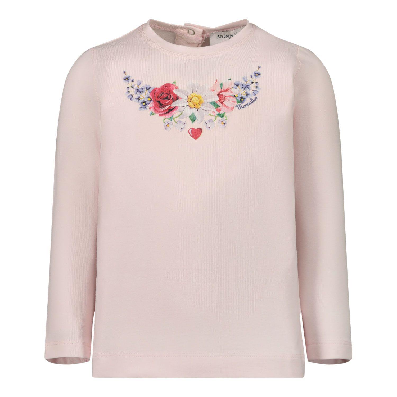 Picture of MonnaLisa 396608SG baby shirt light pink