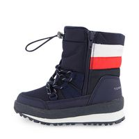 Picture of Tommy Hilfiger 30970 kids snowboots navy
