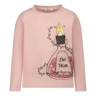 Afbeelding van Liu Jo KF1132 kinder t-shirt licht roze