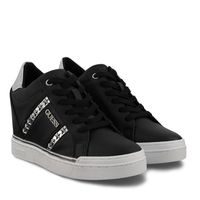 Picture of Guess FL5FAYELE12 womens sneakers black