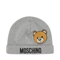 Picture of Moschino MUX03W baby hat grey