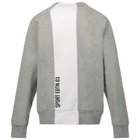 Picture of Dsquared2 DQ0007 kids sweater grey