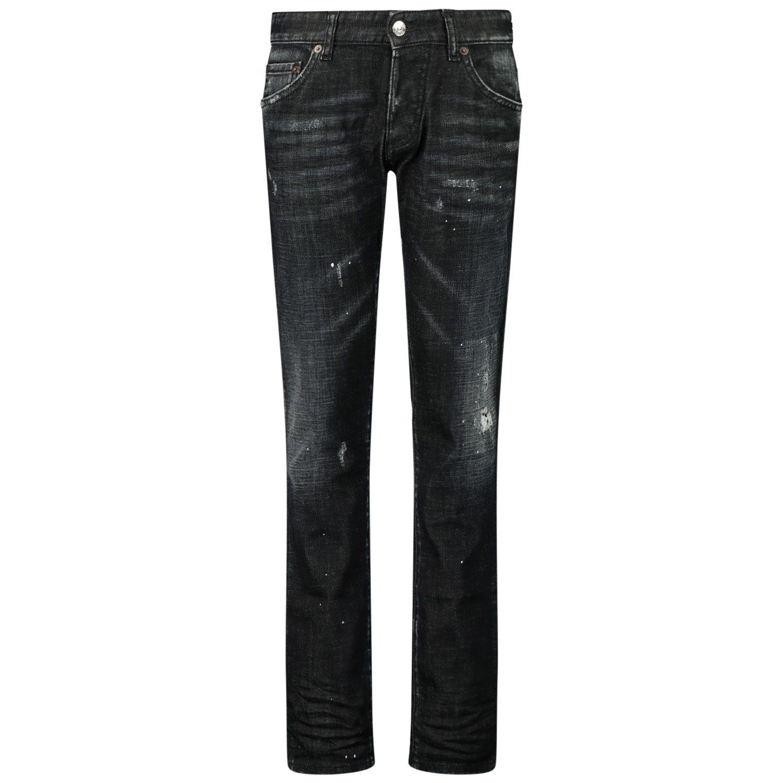 Picture of Dsquared2 DQ01Q3 D001T kids jeans black