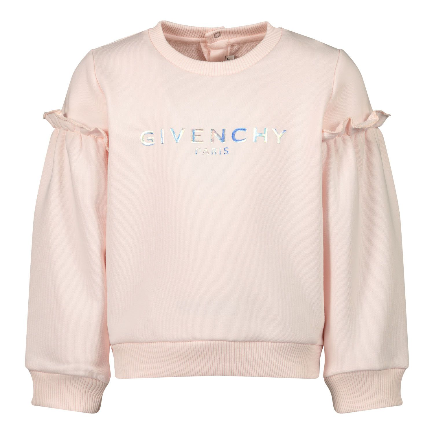 Afbeelding van Givenchy H05167 baby trui licht roze
