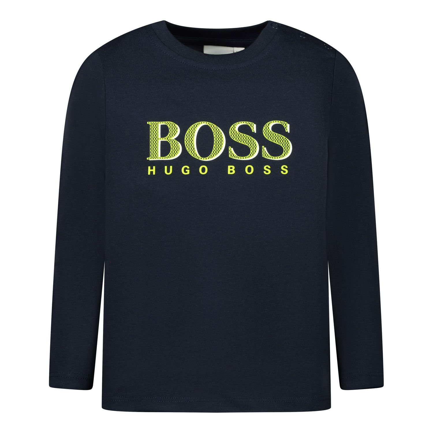 Picture of Boss J05795 baby shirt navy