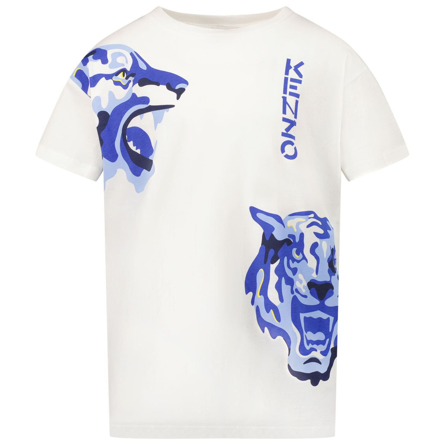 Picture of Kenzo K25174 kids t-shirt off white
