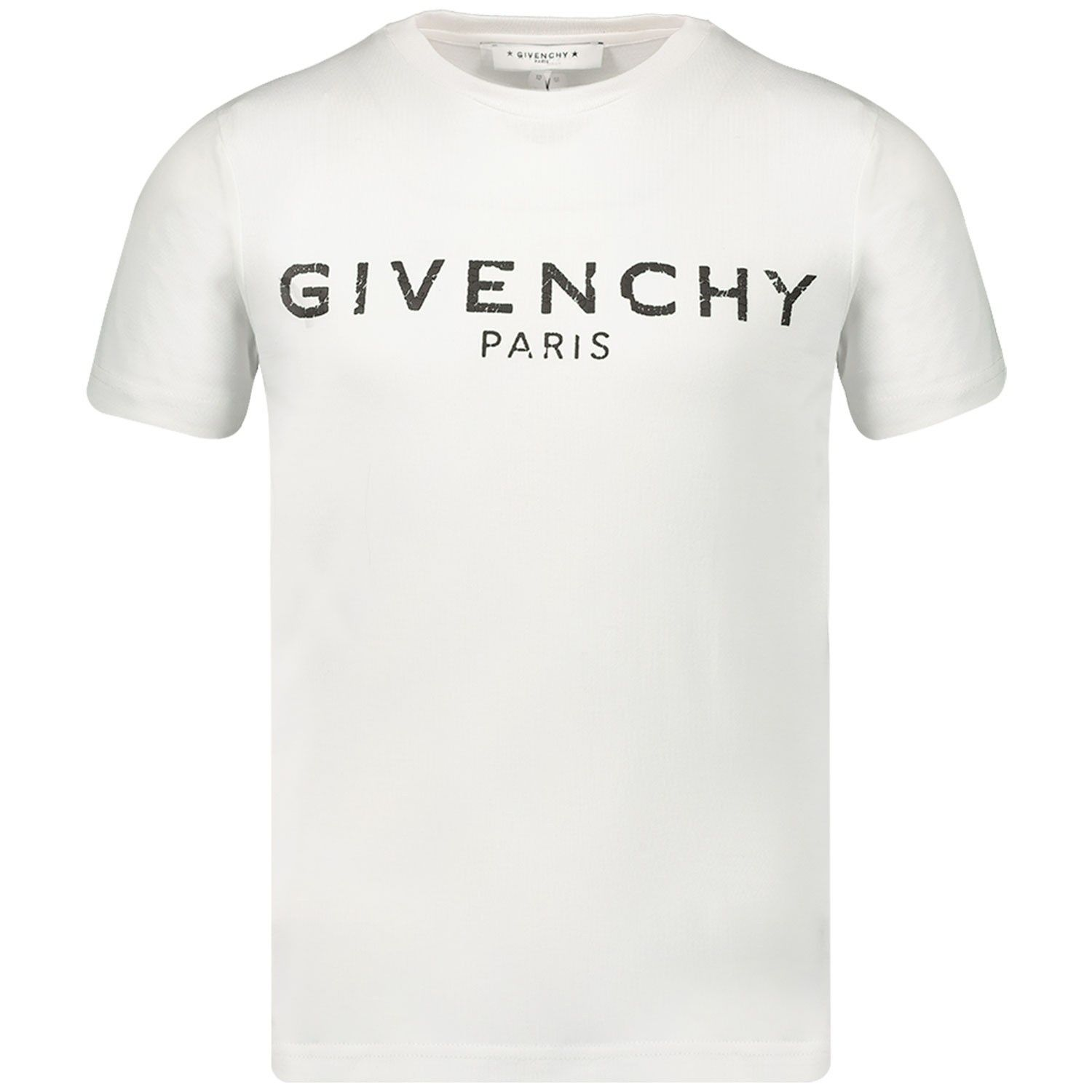 Picture of Givenchy H25094 kids t-shirt white