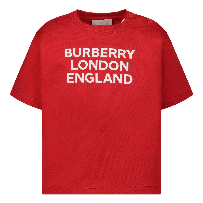 Bild von Burberry 8031562 Baby-T-Shirt Rot
