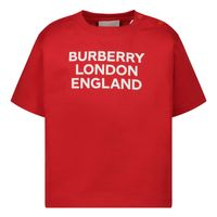 Picture of Burberry 8031562 baby shirt red