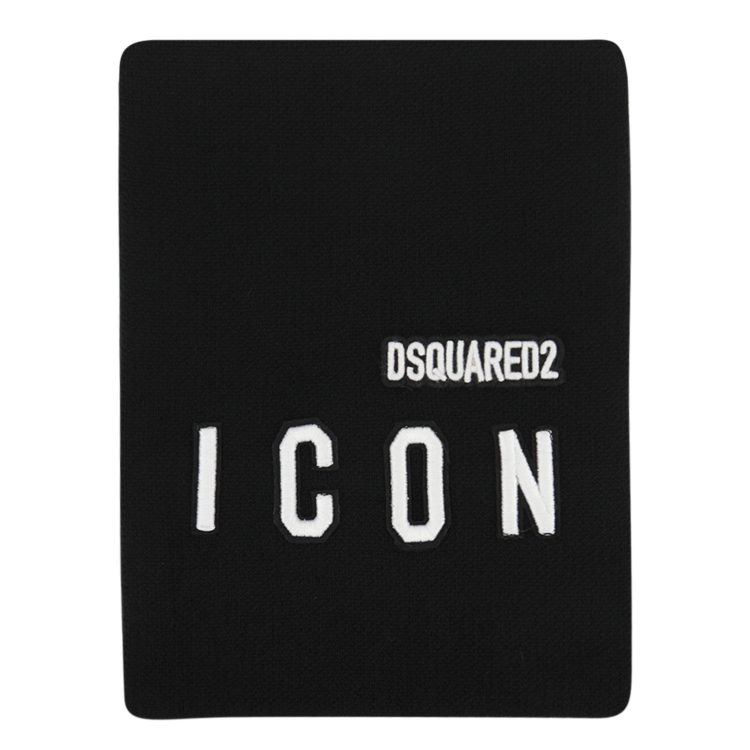 Picture of Dsquared2 DQ04IA baby scarf black