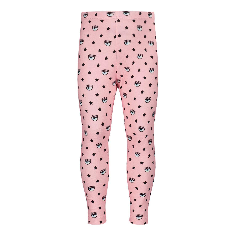 Picture of Chiara Ferragni 518403 kids tights pink