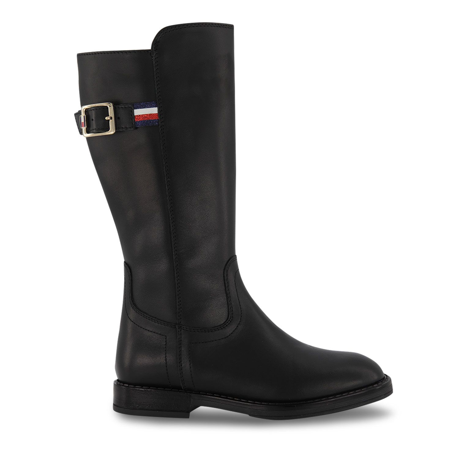 Picture of Tommy Hilfiger 32023 kids boots black