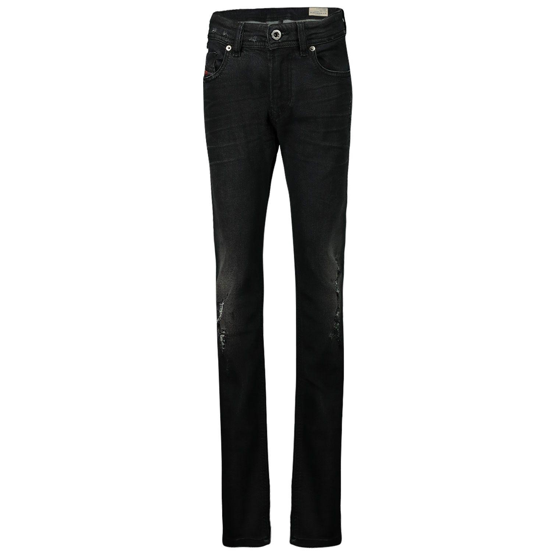 Picture of Diesel 09J3RJ KXB1N kids jeans black