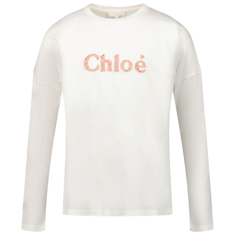 Bild von Chloé C15D21 Kindershirt Creme