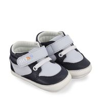 Picture of Boss J99083 baby sneakers navy