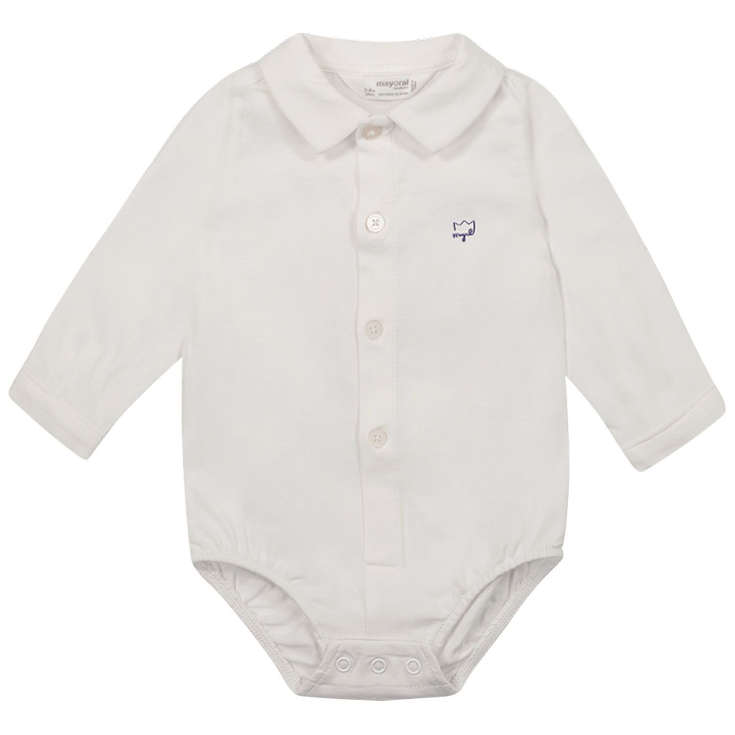 Picture of Mayoral 1702 rompersuit white