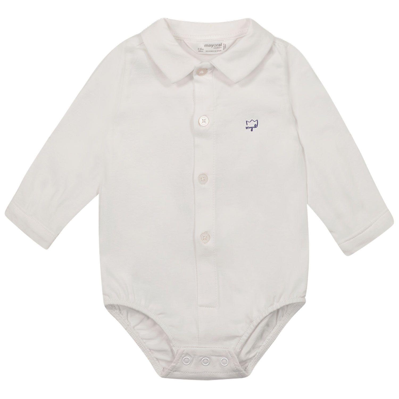 Bild von Mayoral 1702 Babystrampler Weiß