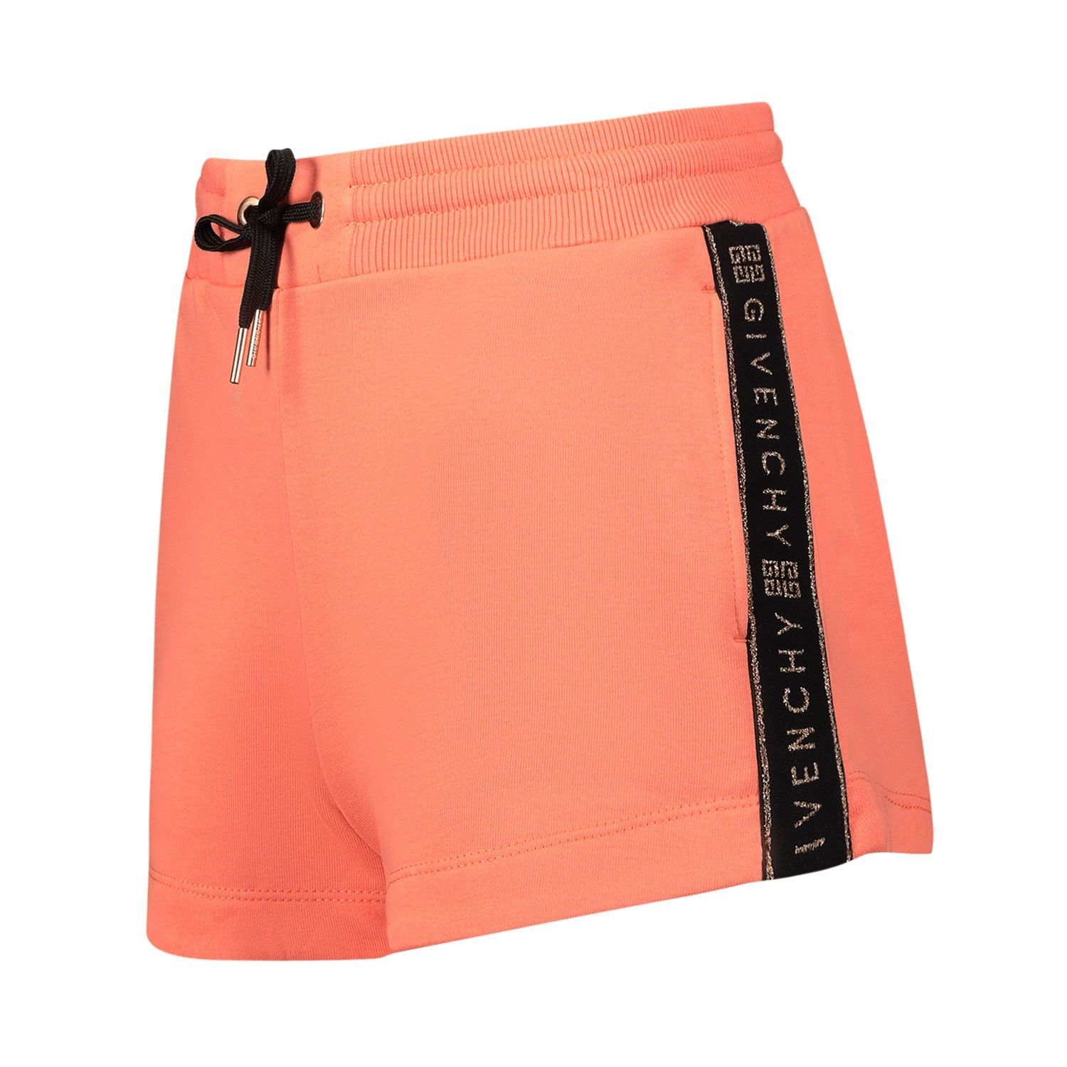 Picture of Givenchy H14077 kids shorts coral
