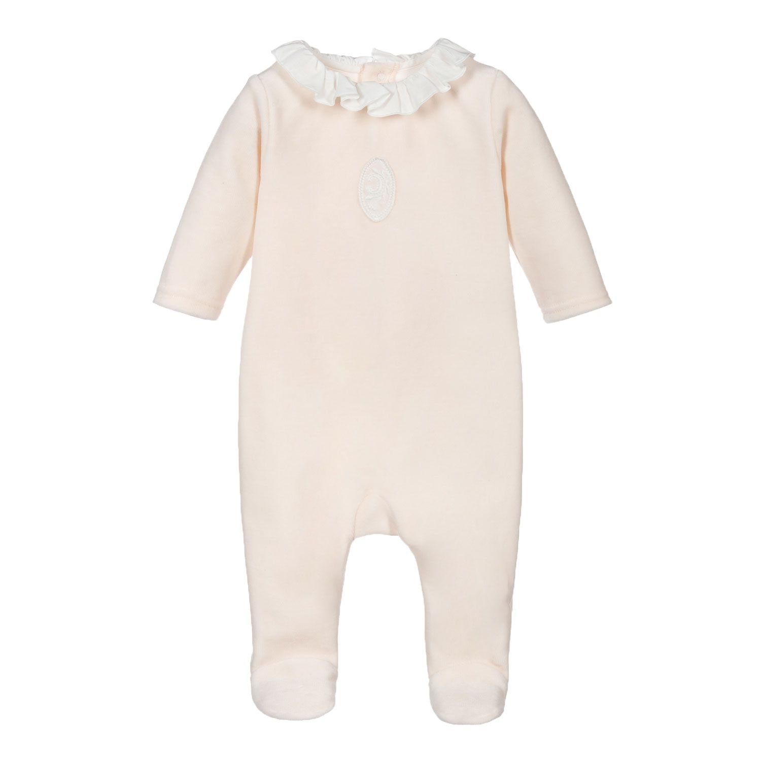 Picture of Chloé C97274 baby playsuit light pink