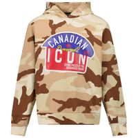 Picture of Dsquared2 DQ0256 kids sweater army