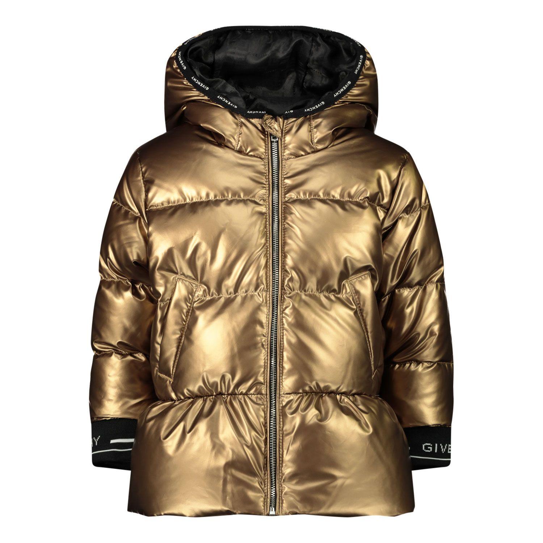 Bild von Givenchy H06042 Babyjacke Gold