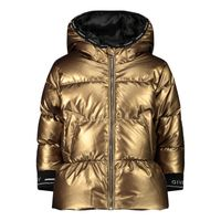 Picture of Givenchy H06042 baby coat gold
