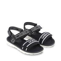 Picture of Dolce & Gabbana DA0970 AO0260 kids sandals black