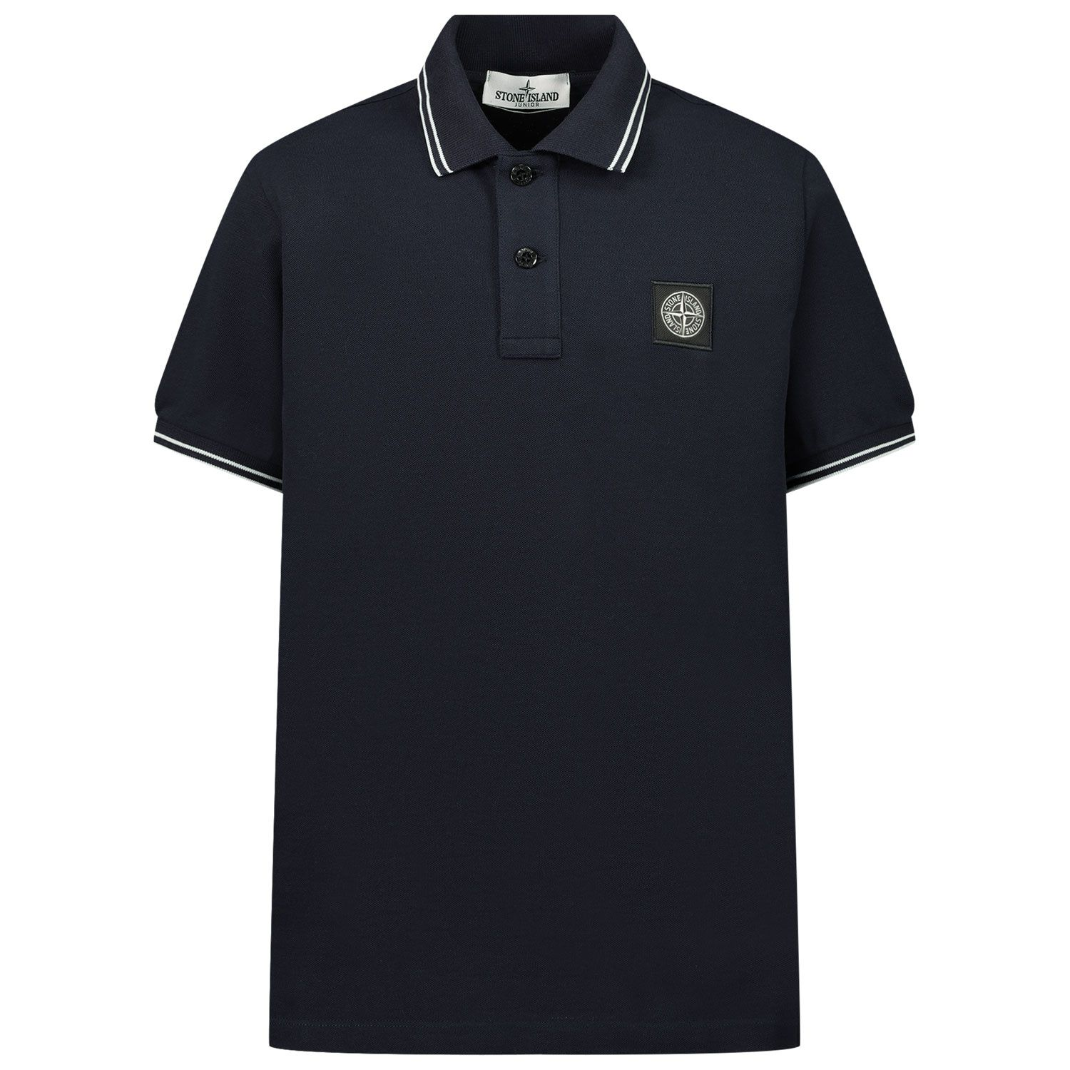 Picture of Stone Island 21348 kids polo shirt navy