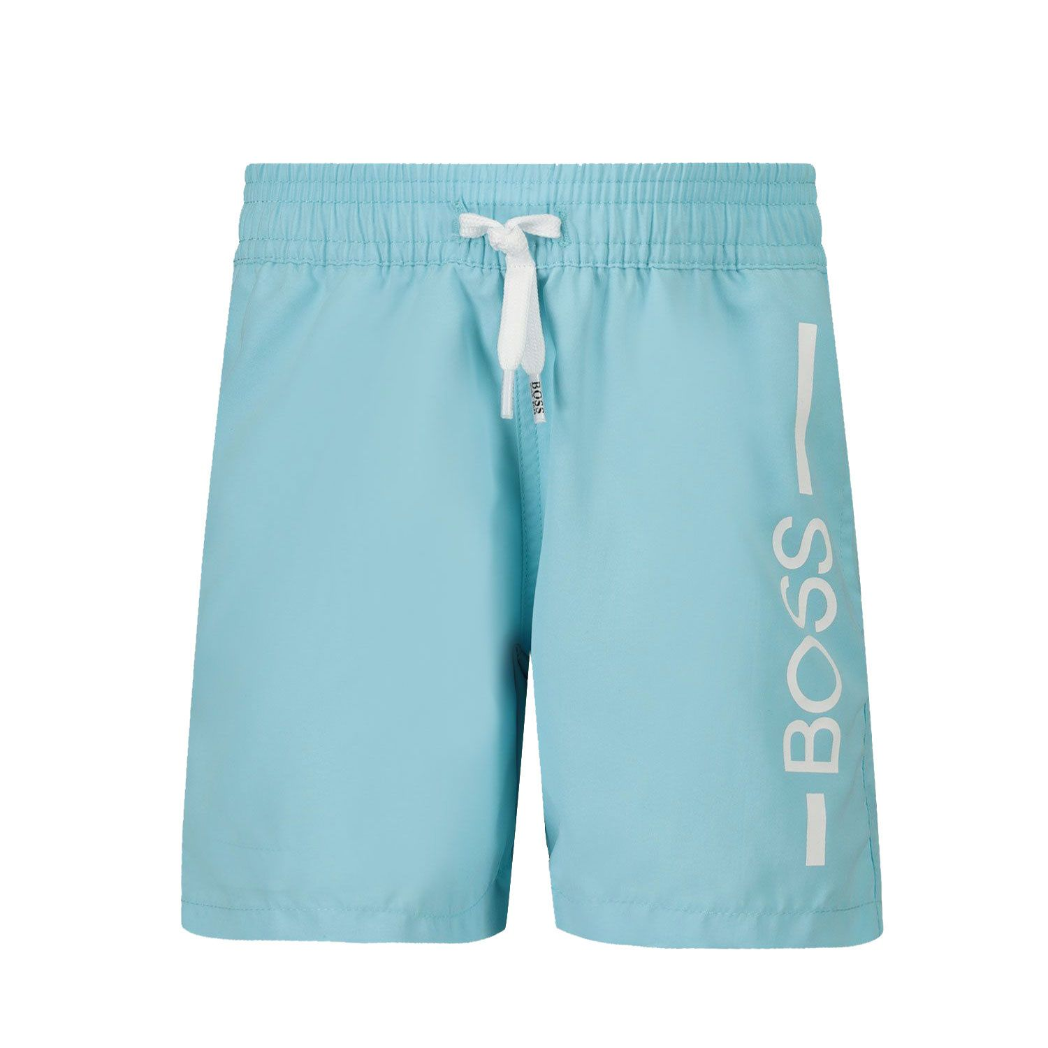 Picture of Boss J04404 baby swimwear turquoise