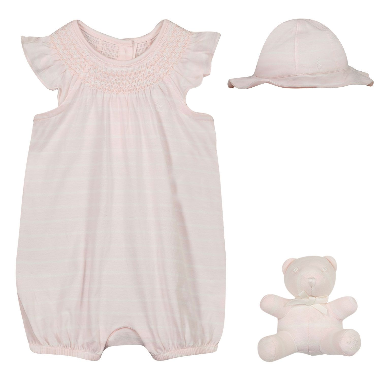 Afbeelding van Ralph Lauren 310836336 babysetje licht roze